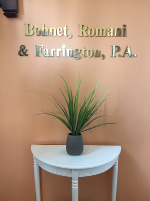 Bohnet, Romani & Farrington, P.A. has been representing clients in personal injury cases for over twenty years and can guide you through this complicated process.